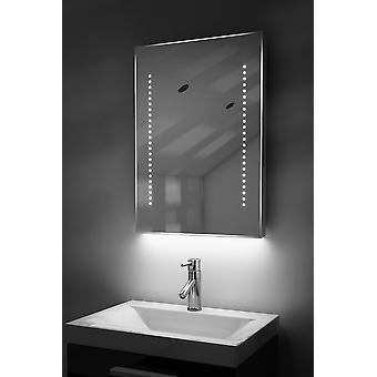 Espelho Ultra-Fino com Iluminação Inferior, Bluetooth, Demist e Sensor k10aud