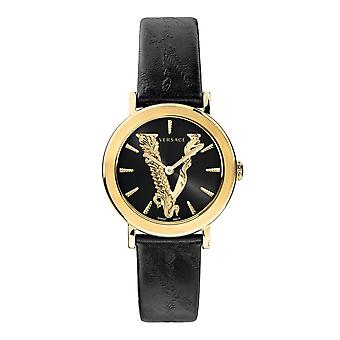 Versace VEHC00119 Women's Virtus Gold Tone Wristwatch