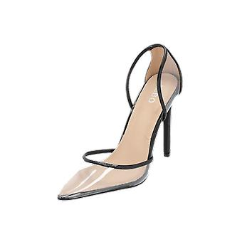 BEBO DONA-1 Damen Pumps Schwarz High-Heels Stilettos Absatz-Schuhe