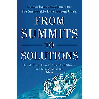 From Summits to Solutions - Innovations in Implementing the Sustainabl