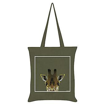 Inquisitive Creatures Giraffe Tote Bag