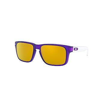 Oakley Holbrook XS OJ9007 06 Translucent Purple/24K Iridium Sunglasses