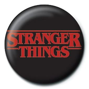Stranger Things Logo 25mm Pin Button Badge