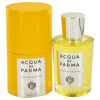Acqua Di Parma Colonia assoluta Eau de Cologne spray az Acqua Di Parma 3,4 oz Eau de Cologne spray