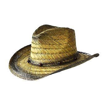 Jacaru 1834 cowboy tinted hat straw