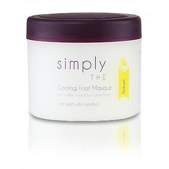 Simply cooling foot masque 500ml