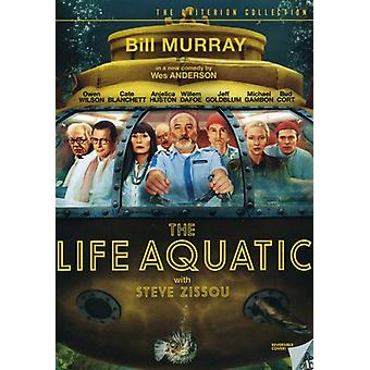 The Life Aquatic with Steve Zissou [Criterion Collection] [DVD] USA import