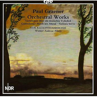 P. Graener - Paul Graener: Orchestral Works [CD] USA import