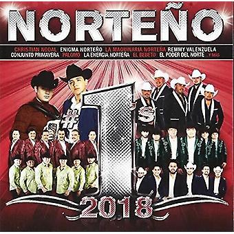 Norteno #1's 2018 [CD] USA import