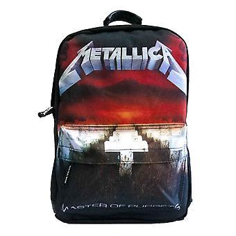 Metallica mochila bolsa maestro de títeres banda logo nuevo oficial negro