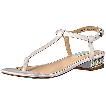 Betsey Johnson Womens Evie Open Toe Special Occasion T-Strap Sandals