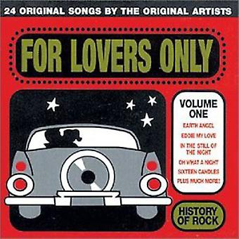 History of Rock - History of Rock: Vol. 1-for Lovers Only [CD] USA import