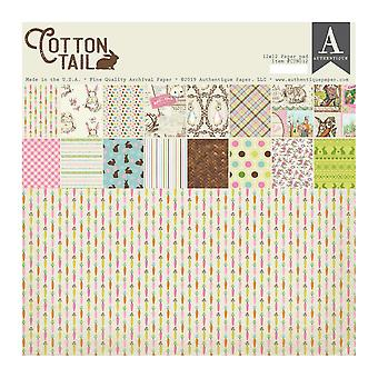 Authentique Cottontail 12x12 Tuuman Paperityyny
