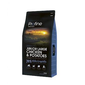 Profine Junior Large Breed Pollo (Dogs , Dog Food , Dry Food)