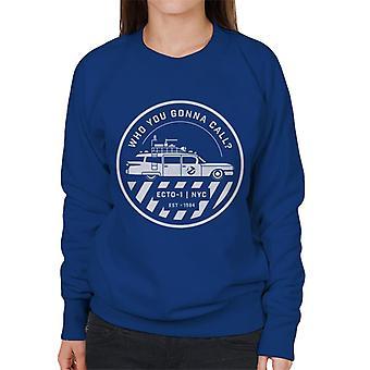 Ghostbusters ECTO 1 NYC Logo Women's Sweatshirt