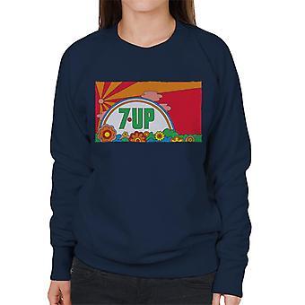 7up Vintage 70s Sunset Women's Sweatshirt