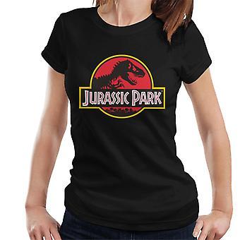 Jurassic Park klassieke logo vrouwen ' s T-shirt