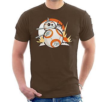 Star Wars BB8 Fighter Chase miesten ' s T-paita