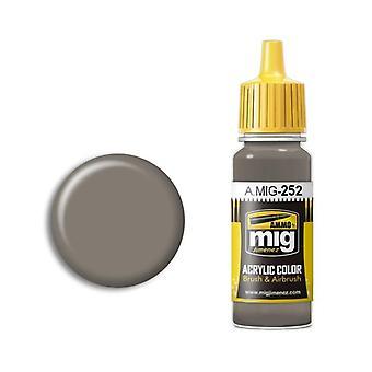 Ammo by Mig Acrylic Paint - A.MIG-0252 Grey Brown AMT-1 (17ml)
