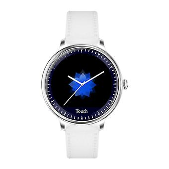 Rundoing NY12 Luxury Smartwatch Watch Fitness Activity Tracker iOS Android - White