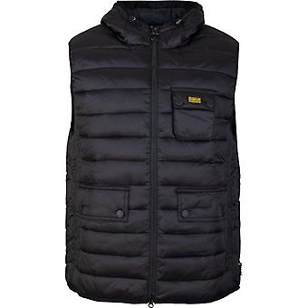 Barbour International Ouston Hooded Quilted Gilet