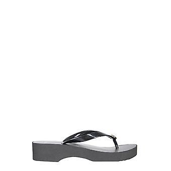 Tory Burch 48211009 Women's Black Pvc Flip Flops