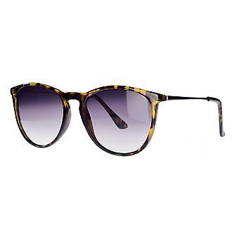 النظارات الشمسية Unisex Cat.2 الدخان الذهب / البنفسجي (& نقلا عن amu19200d & نقلا عن))
