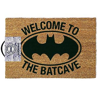 Batman - welcome to the bat cave - doormat