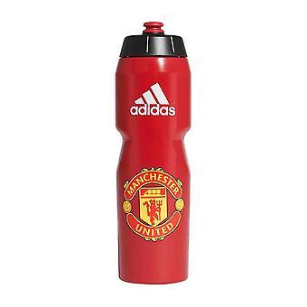 2020-2021 Man Utd Adidas Water Bottle (Red)