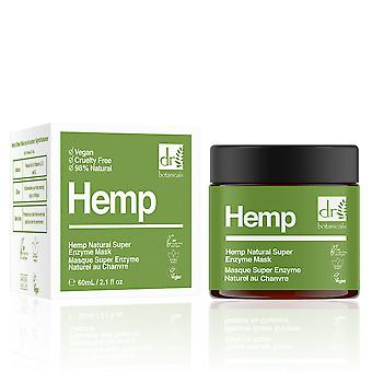 Dr. Botanicals Hemp Infused Super Natural Enzyme Mask 60 Ml For Women