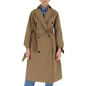 Victoria Beckham 2320wct001434a Femmes-apos;s Brown Cotton Trench Coat