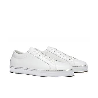 Uniform Standard Series 1 Triple White Leather Trainers
