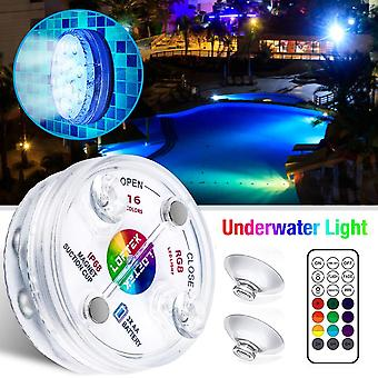 Underwater Light Led Rgb Submersible Swimming Pool Lamp, Ip68 Waterproof With