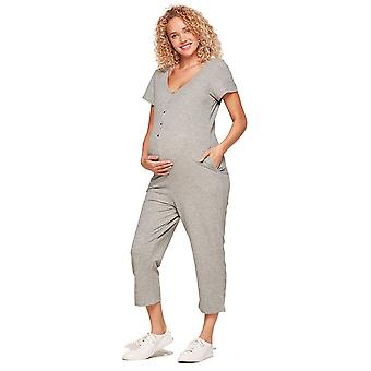 Belabumbum French Terry Henley Nursing Romper