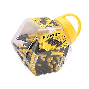 Stanley Tools Mini Fine Tip Marker Black (Tub 72) 1-47-324