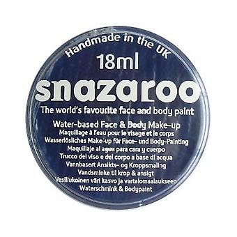 Snazaroo Halloween Fancy Dress Accessories - Classic Colours Water Based Face & Body Paint - Dark Blue 18ml