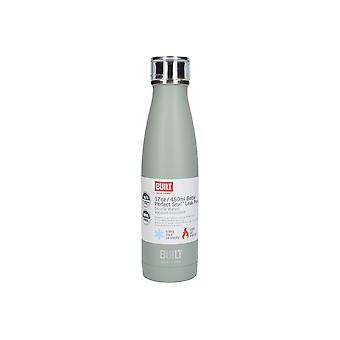 Built Double Walled Water Bottle Stainless Steel 17oz Storm Grey