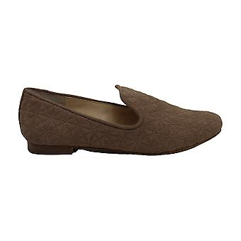 Vince Camuto Womens lieley Suede Closed Toe Slide Flats