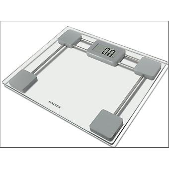 Salter Electronic Bathroom Scale Glass 9081SV3R
