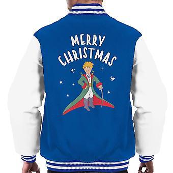 Pieni prinssi hyvää joulua miehet'varsity takki
