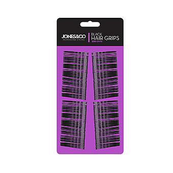 Kirby Hair Grips Pack Of 200 ~ Black