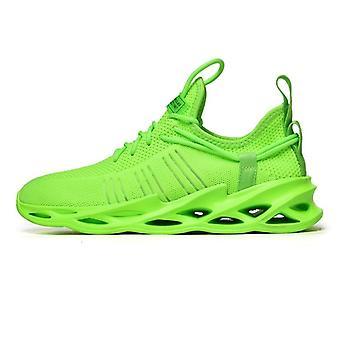 تنفس تشغيل الأحذية الرياضية، الدانتيل حتى عدم الانزلاق أحذية رياضية منخفضة / النساء