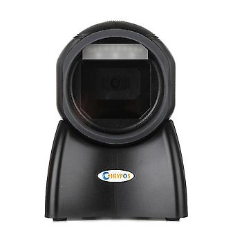 Omni Barcode Scanner, 1d/2d Bar Code Scanner Ticketing Qr Code Scanner, Desktop