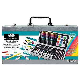 Royal & Langnickel Mixed Media Beginners Art Box Set