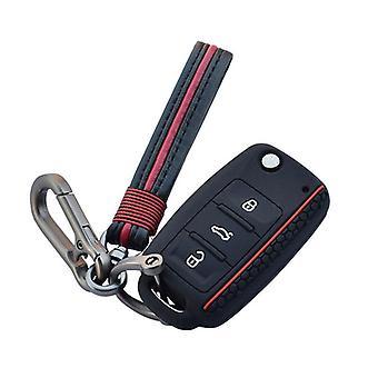 Chiave auto, guscio della custodia in silicone, protezione remota del pulsante