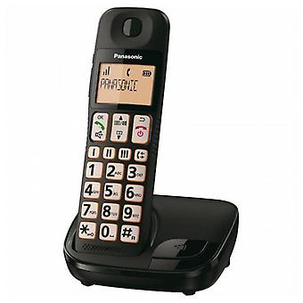 Draadloze telefoon Panasonic KX-TGE310SPB Zwart