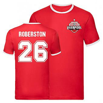 Andy Robertson Liverpool Ringer Tee (Red)