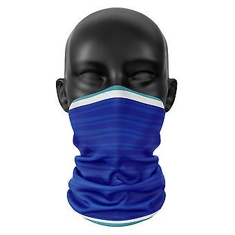 Cardiff City FC Colours Snood Face Mask Scarf Football Club Buff Headwear Tube