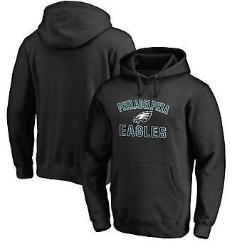 Philadelphia Eagles Loose Hooded Sweatshirt Hoodie Tops WYK034