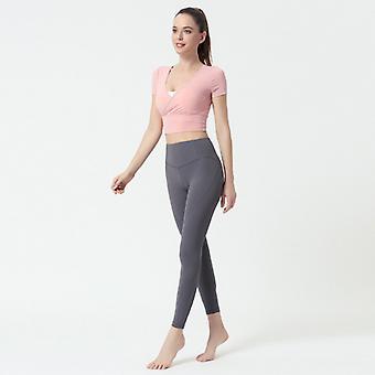 Ladies Slim Yoga Fitness Sports Top C32